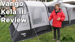 Air Awning Reviews Vango Kela Iii Airbeam Van Awning Review Youtube