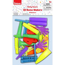 noise makers way to celebrate party noise makers 18 pack walmart