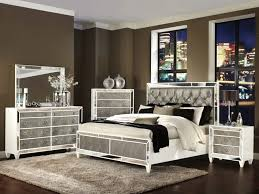 Silver Leaf Bedroom Furniture by Furniture 93 Borghese Mirrored Nightstand Mirrored Nightstand