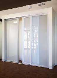 Glass Wardrobe Doors Frosted Glass Closet Doors Image Collections Glass Door
