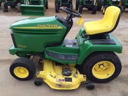 john deere gx series lawn tractors john deere riding mowers