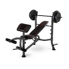 weight and bench set marcy fitness standard weight bench with 80 lb weight set