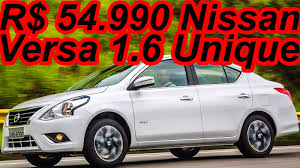 nissan versa 2015 youtube r 54 990 nissan versa 2016 1 6 unique 111 cv 15 1 mkgf youtube
