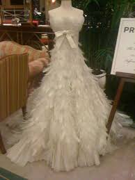 feather wedding dress can i wear this to the prom everything feathers