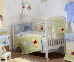 Nursery Bed Sets Baby Bedding Sets Pooh Crib Bedding Collection 4 Pc Crib