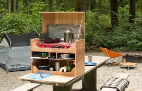 kitchens how to build your own camp kitchen chuck trends and box