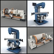 3d milling machine horizontal milling machine model
