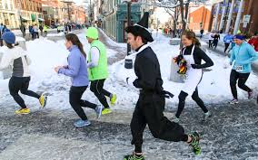 thanksgiving day runners make hay in portland the forecaster