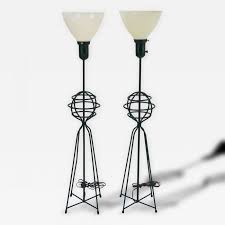 Large Table Lamps Rare Pair Of Large Table Lamps By Harry Lawenda For Kneedler Fauchere