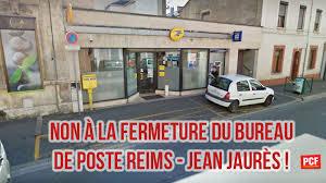 bureau poste reims pétition directeur de la poste non à la fermeture du bureau de