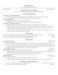 Sample Resume Computer Engineer Computer Science Resumes Strong Resume Headline Examples Also