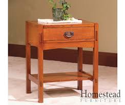 post mission 1 drawer night stand homestead furniture