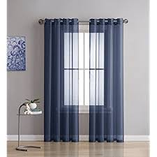 Semi Sheer Curtains Amazon Com Best Dreamcity Faux Linen Sheer Curtains For Bedroom