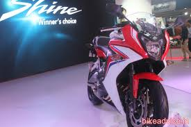 honda cbr india auto expo 2014 honda to launch gorgeous new cbr650f in india