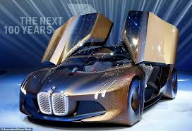 sports cars bmw bmw shows off concept car for the self driving future daily mail