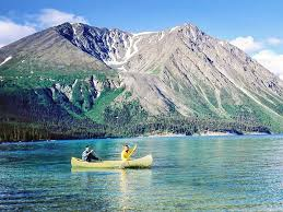 Teh Yakon paddling in yukon s wilderness west canada travel inspiration