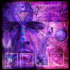 third eye chakra digital art by mark preston