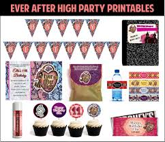 high party supplies after high party and ideas to make your theme party