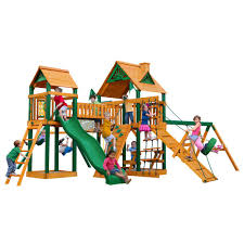 Big Backyard Playsets by Playsets U0026 Swing Sets Parks Playsets U0026 Playhouses The Home Depot