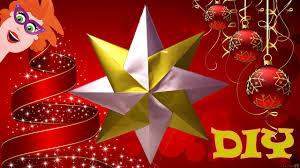 diy origami ster vouwen nederlands knutselen voor kerst
