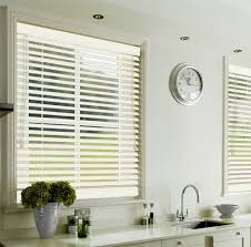white beauty wooden blinds 35mm u0026 50mm off white stained wood
