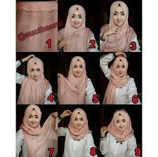 tutorial hijab pashmina untuk anak sekolah 86 gambar keren tutorial hijab pashmina untuk remaja untuk wajah