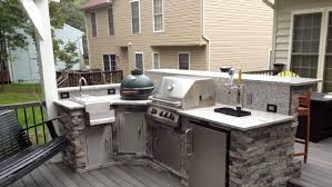 how to build a outdoor kitchen island build your own outdoor kitchen crafts home