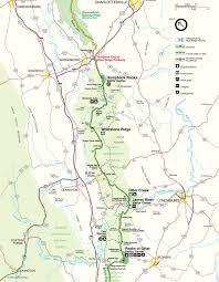 map usa parkway blue ridge parkway maps