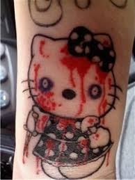 15 utterly bizarre hello kitty tattoos neatorama
