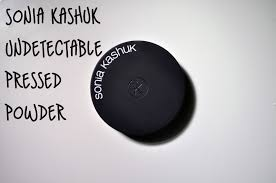 sonia kashuk undetectable pressed powder review the ravings of