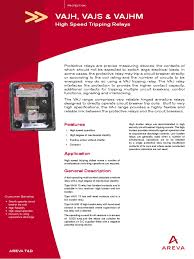 vaj manual relay electrical equipment