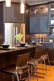Dark Cabinets Kitchen Ideas 39 Best Kitchens W Dark Cabinets Images On Pinterest Dark