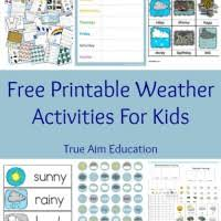 free preschool printables insect mini pack true aim