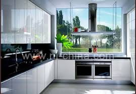 new model home furniture lacquer door whole kitchen cabinet set