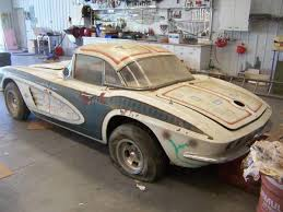 corvettes on craigslist barn find 1961 corvette fuelie corvette