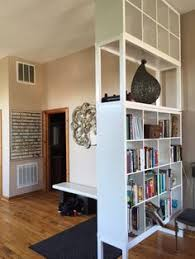 Room Divider Storage Unit - bookcase roomdivider organizing modern room and spaces