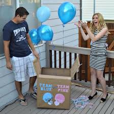 gender reveal balloons in a box diy gender reveal box simply darr