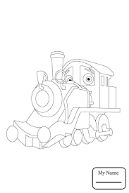 coloring pages for kids chuggington cartoons koko colorpages7 com