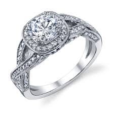 twisted band engagement ring eternity engagement rings budget engagement rings