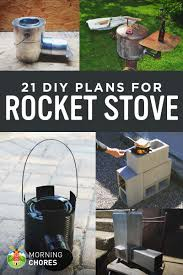 Diy Portable Camp Kitchen by 21 Free Diy Rocket Stove Plans For Cooking Efficiently With Wood