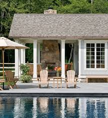 designer outdoor furniture patio farmhouse with changing room