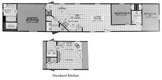Mfg Homes Floor Plans by Emejing 2 Bedroom 2 Bath Mobile Home Pictures Home Design Ideas