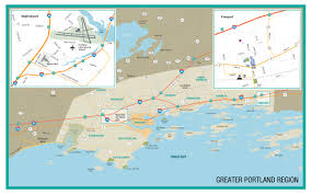 Maps Portland Maine by Maine Map Explore The Towns U0026 Downtown City Travel Portland