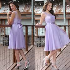 lavender bridesmaid dress 2015 lavender bridesmaid dresses knee length cheap chiffon