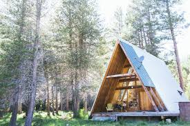 100 a frame chalet plans for small aframe timber lodge this