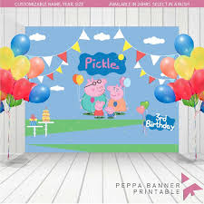 peppa pig decorations 72 best peppa pig party ideas images on pig party