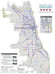Public Transit Chicago Map by Chicago Might Be Broke Corrupt And Cold Blooded But It U0027s Bike