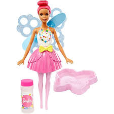 barbie dreamtopia bubbletastic fairy doll dvm96 barbie