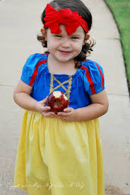 Apple Halloween Costume Baby Easy Sew Snow White Peasant Dress Halloween Dress