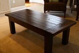 Wood Coffee Table Designs Plans by Ana White Updated Tryde Coffee Table Pocket Holes Diy Projects
